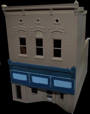 N Scale - Scale Railroad Models - SRM-2041-N - Structure, Building, Commercial, Store - Commercial Structures
