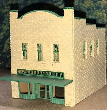 N Scale - Scale Railroad Models - SRM-2034-N - Structure, Building, Commercial, Boutique - Commercial Structures