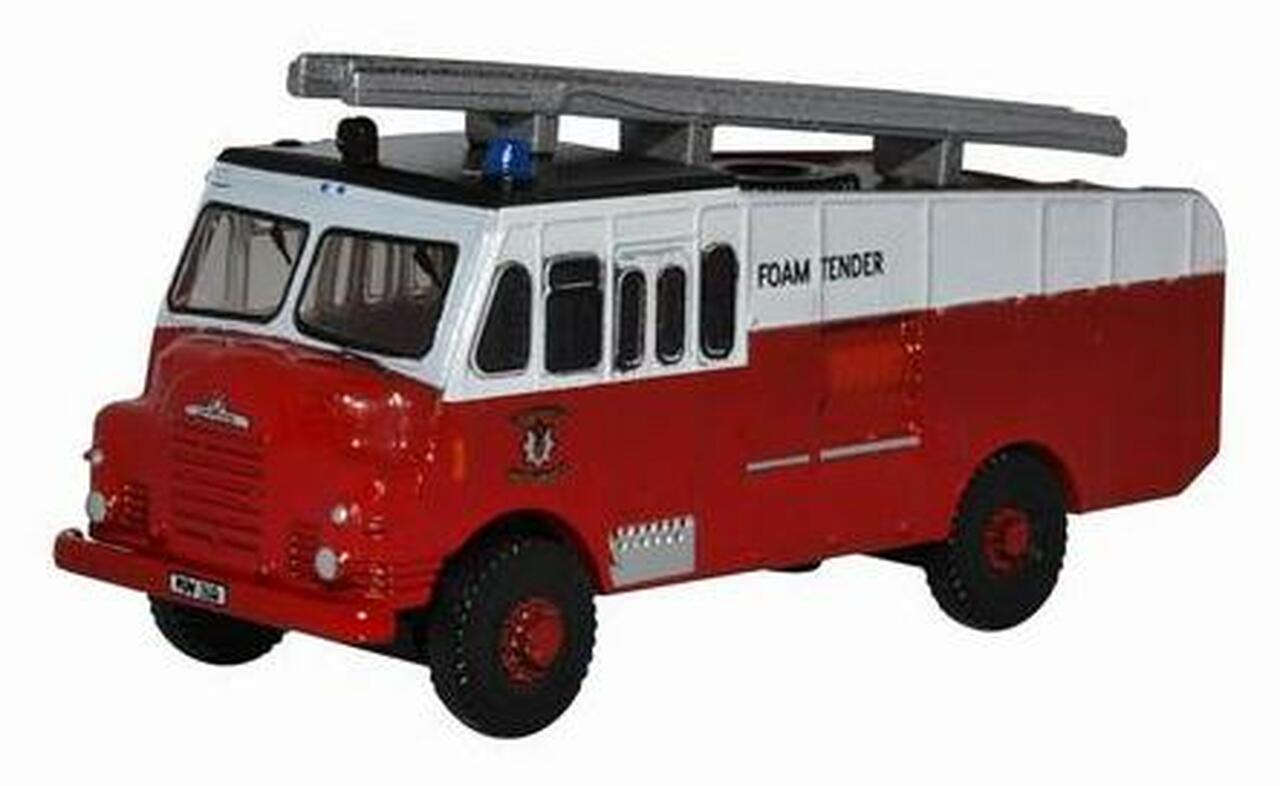 N Scale - Oxford Diecast - NGG002 - Truck, Scania, Tractor-Trailer - Fire and Rescue - PGW 608