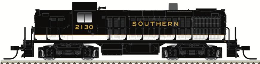 N Scale - Atlas - 40 005 035 - Locomotive, Diesel, Alco RS-2 - Southern - 2130