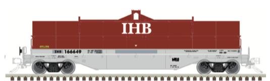 N Scale - Atlas - 50 004 882 - Gondola, Steel Coil, Greenbrier 42 Foot - Indiana Harbor Belt - 166618