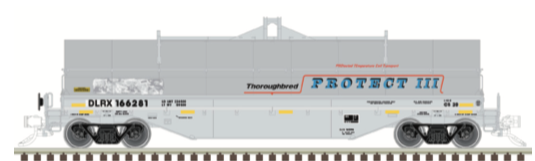 N Scale - Atlas - 50 004 878 - Gondola, Steel Coil, Greenbrier 42 Foot - General Electric Railcar Services - 166287