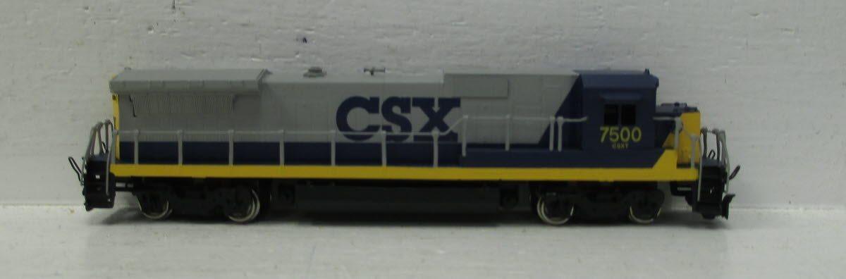 N Scale - Hallmark Models - GE Dash 8-40 C CSX - Locomotive, Diesel, GE Dash 8 - CSX Transportation - 7500