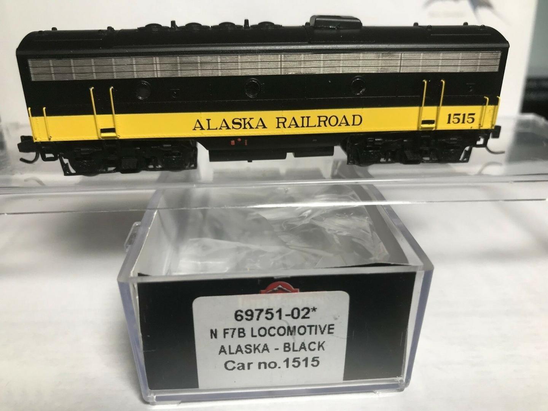 N Scale - InterMountain - 69751-02 - Locomotive, Diesel, EMD F7B - Alaska Railroad - 1515