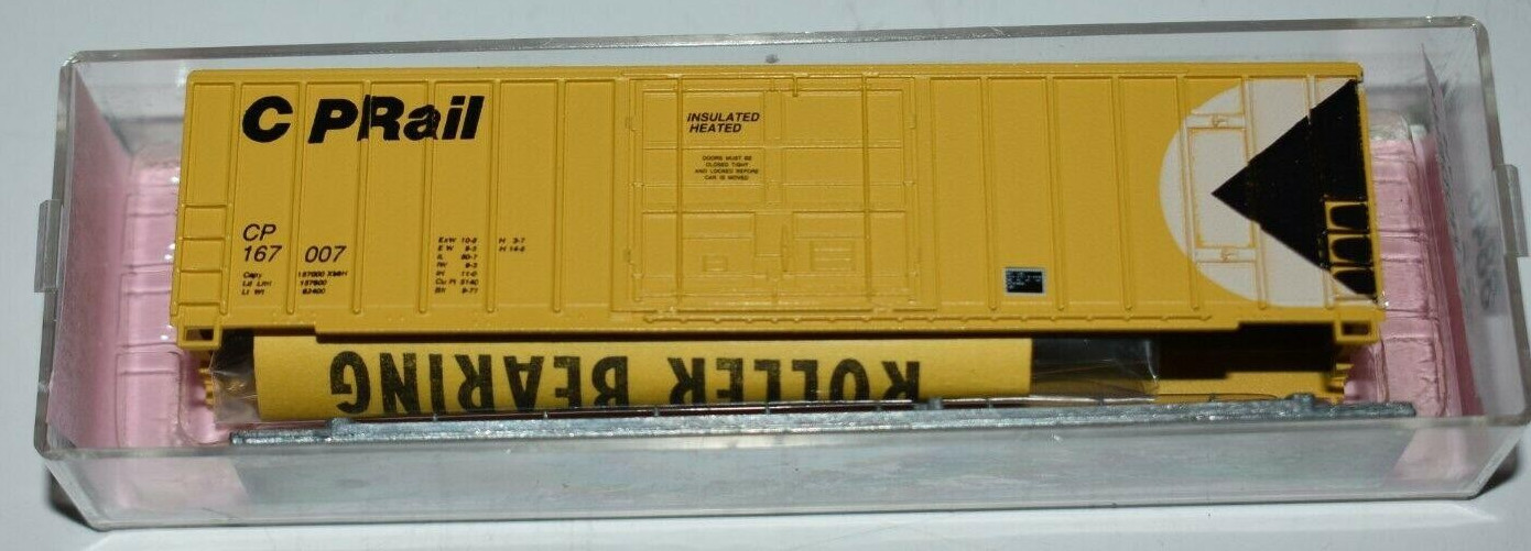 N Scale - Roundhouse - 8846 - Boxcar, 50 Foot, FMC, 5077 - Canadian Pacific - 167007