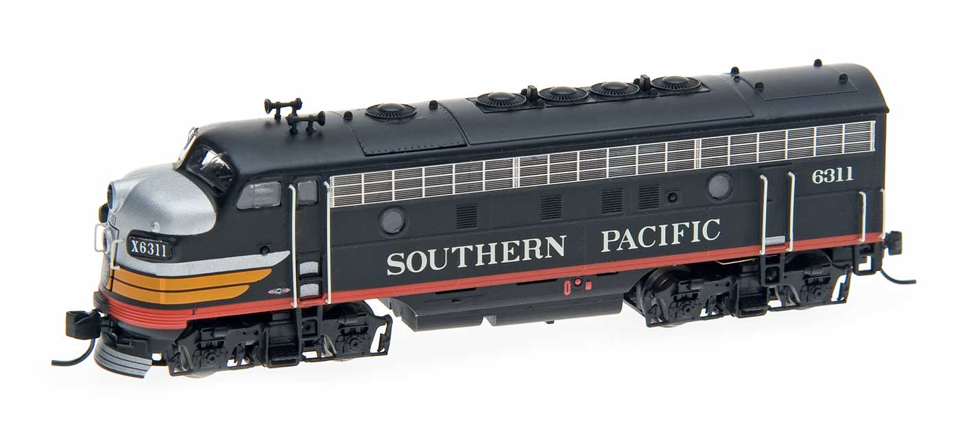 N Scale - InterMountain - 69202-07 - Locomotive, Diesel, EMD F7 - Southern Pacific - 6326