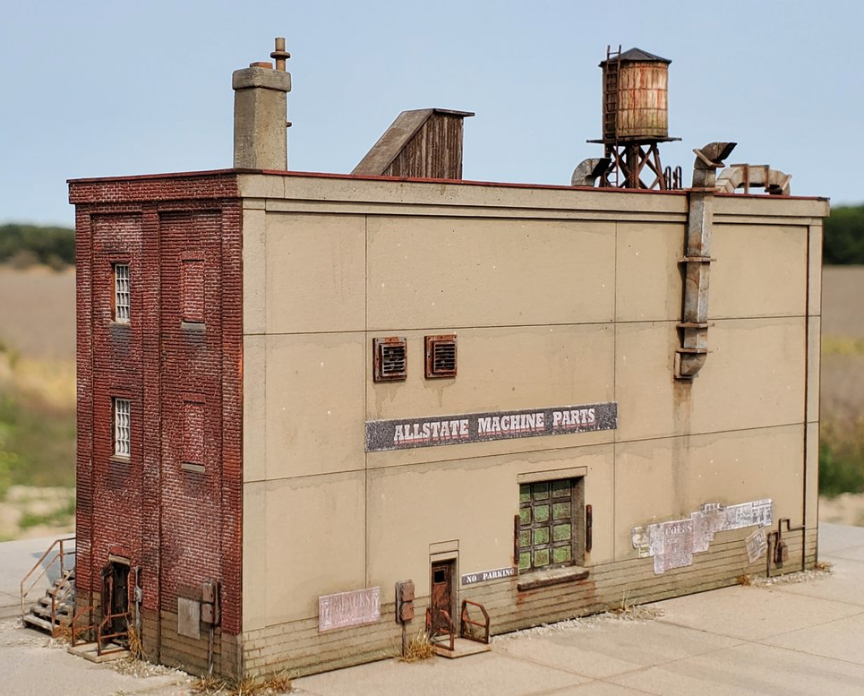 N Scale - ITLA - N3150 - Structure, Building, Industrial, Factory,Warehouse - Industrial Structures