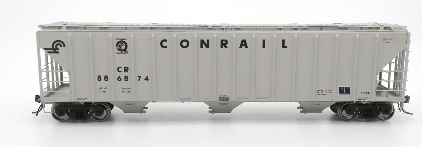 N Scale - InterMountain - 672210-04 - Covered Hopper, 3-Bay, PS-2 - Conrail - 886920