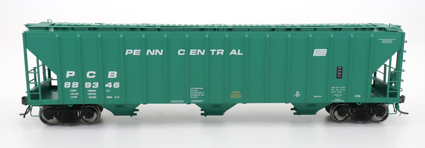 N Scale - InterMountain - 672240-01 - Covered Hopper, 3-Bay, PS-2 - Penn Central - 888749