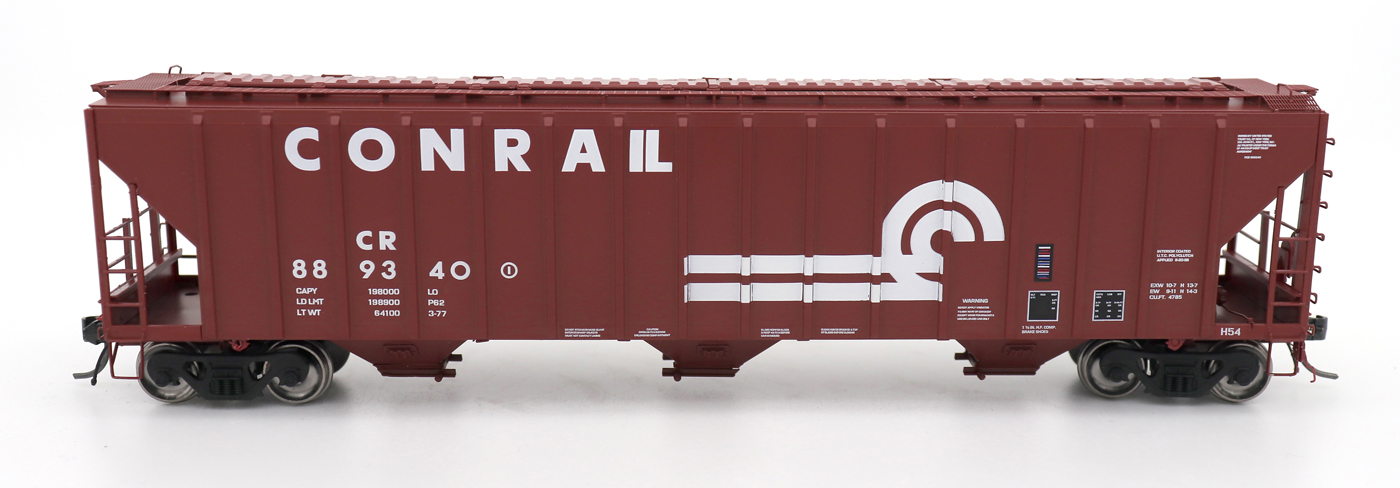 N Scale - InterMountain - 672242-02 - Covered Hopper, 3-Bay, PS-2 - Conrail - 889098