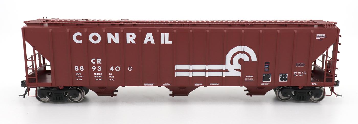N Scale - InterMountain - 672242-03 - Covered Hopper, 3-Bay, PS-2 - Conrail - 889340