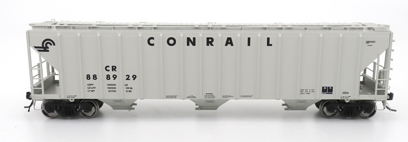 N Scale - InterMountain - 672245-01 - Covered Hopper, 3-Bay, PS-2 - Conrail - 888839