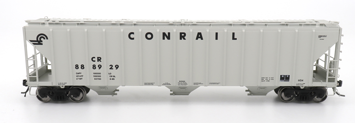 N Scale - InterMountain - 672245-06 - Covered Hopper, 3-Bay, PS-2 - Conrail - 889825
