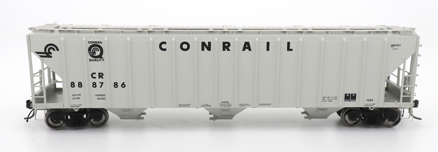 N Scale - InterMountain - 672246-01 - Covered Hopper, 3-Bay, PS-2 - Conrail - 888786