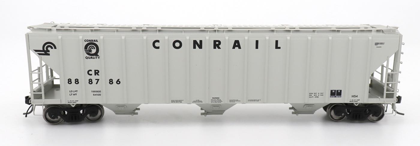 N Scale - InterMountain - 672246-04 - Covered Hopper, 3-Bay, PS-2 - Conrail - 888886