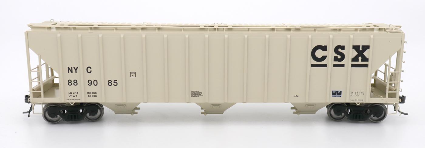 N Scale - InterMountain - 672248-03 - Covered Hopper, 3-Bay, PS-2 - CSX Transportation - 889085