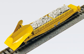 N Scale - Micro-Trains - NSE MTL 19-199 - Flat Car, 50 Foot, Fishbelly, Wedge Plow - Chicago & North Western - 46557