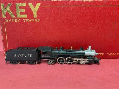 N Scale - Key - SP P5 - Locomotive, Steam, 4-6-2, Pacific H4 - Santa Fe - 2440