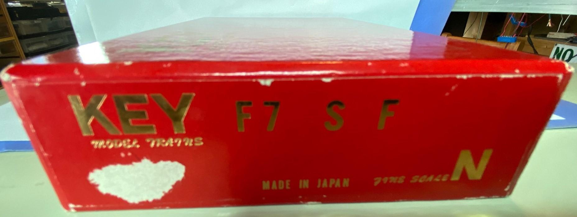 N Scale - Key - F7 SF - Locomotive, Diesel, EMD F7 - Santa Fe