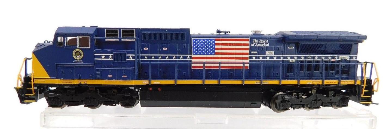 N Scale - Atlas - NSE ATL 12-10 - Locomotive, Diesel, GE Dash 8 - CSX Transportation - 1992