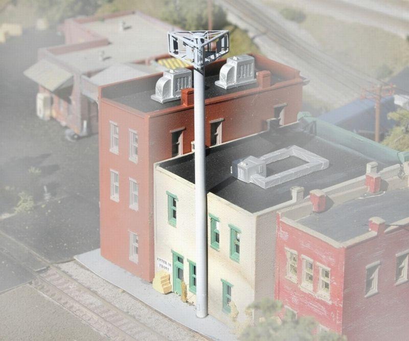 N Scale - BLMA - 600 - Accessories, Cell Phone Tower - Undecorated