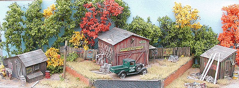 N Scale - Bar Mills - 0991 - Structure, Building, Railroad, Shacks - Railroad Structures