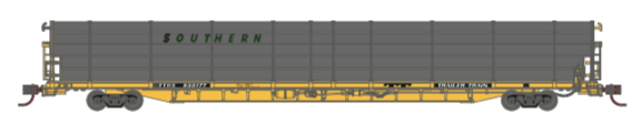 N Scale - Athearn - 15026 - Autorack, Open Side, Bi-Level, F89-F - Southern - 930177