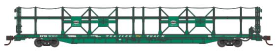 N Scale - Athearn - 15031 - Autorack, Open Side, Bi-Level, F89-F - New York Central - 913211