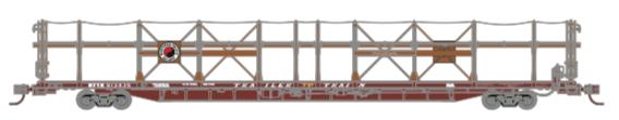N Scale - Athearn - 15041 - Autorack, Open Side, Bi-Level, F89-F - Northern Pacific - 913435