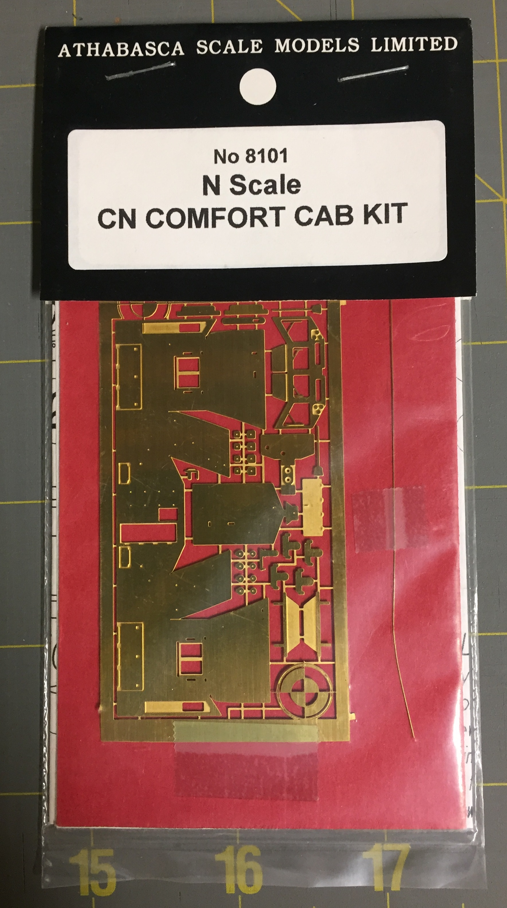 N Scale - Athabasca Scale models - 8101 - Canadian National
