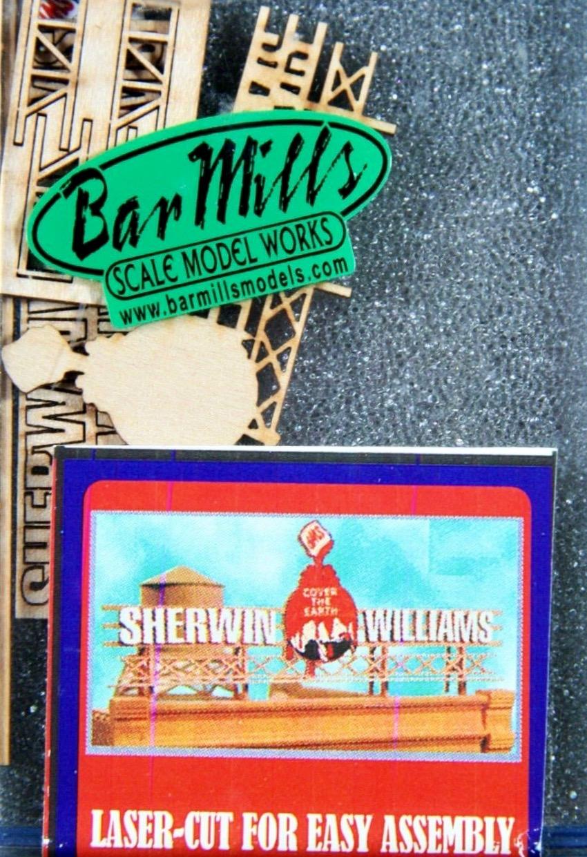 N Scale - Bar Mills - 92401 - Structure, Billboard - Billboard