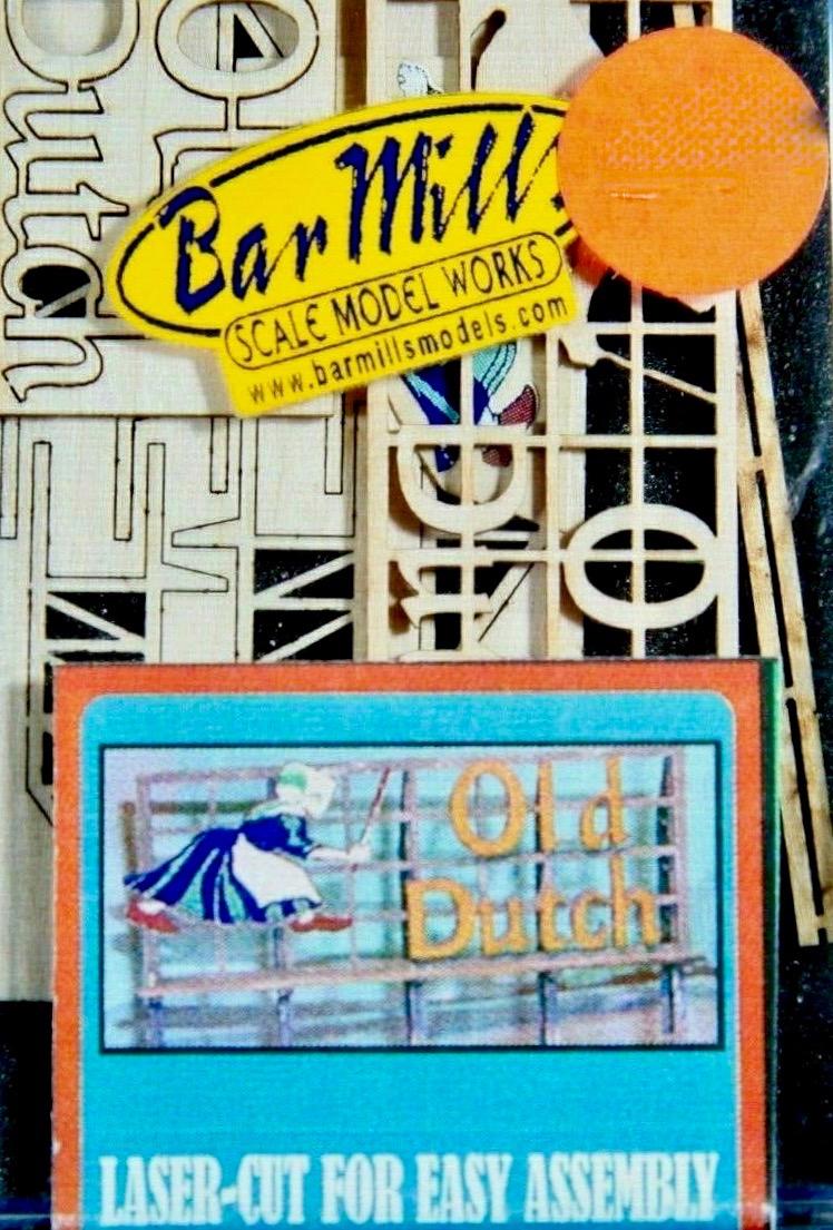 N Scale - Bar Mills - 0105 - Structure, Billboard - Billboard