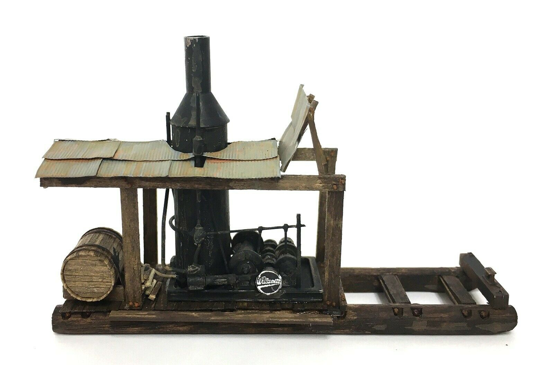 N Scale - KMP Models - N-Loader Donkey - Structure,Industrial, Loader Steam Donkey - Industrial Structures