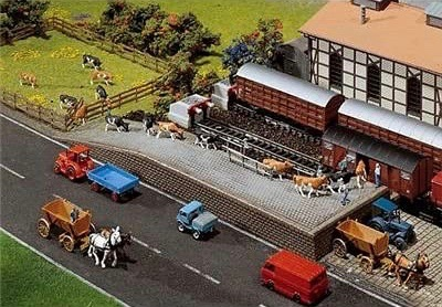 N Scale - Faller - 222129 - Structures, Railroad, Loading Ramp - Railroad Structures