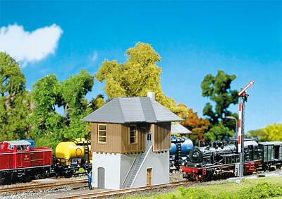N Scale - Faller - 222157 - Structure, Railroad, Signal Tower - Railroad Structures