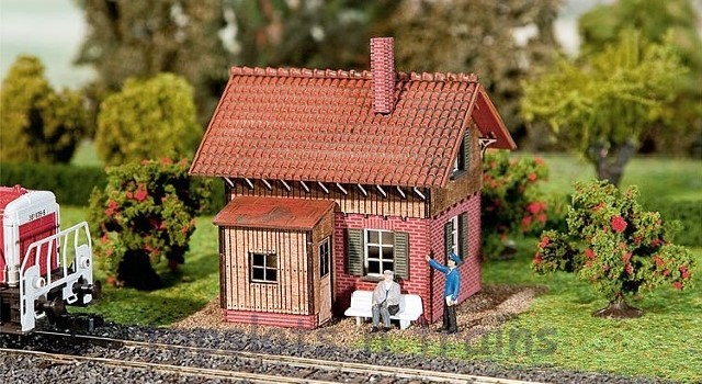 N Scale - Faller - 222156 - Structure, Railroad, Signal House - Railroad Structures