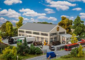 N Scale - Faller - 222221 - Structure, Building, Commercial,UPS Depot - Commercial Structures