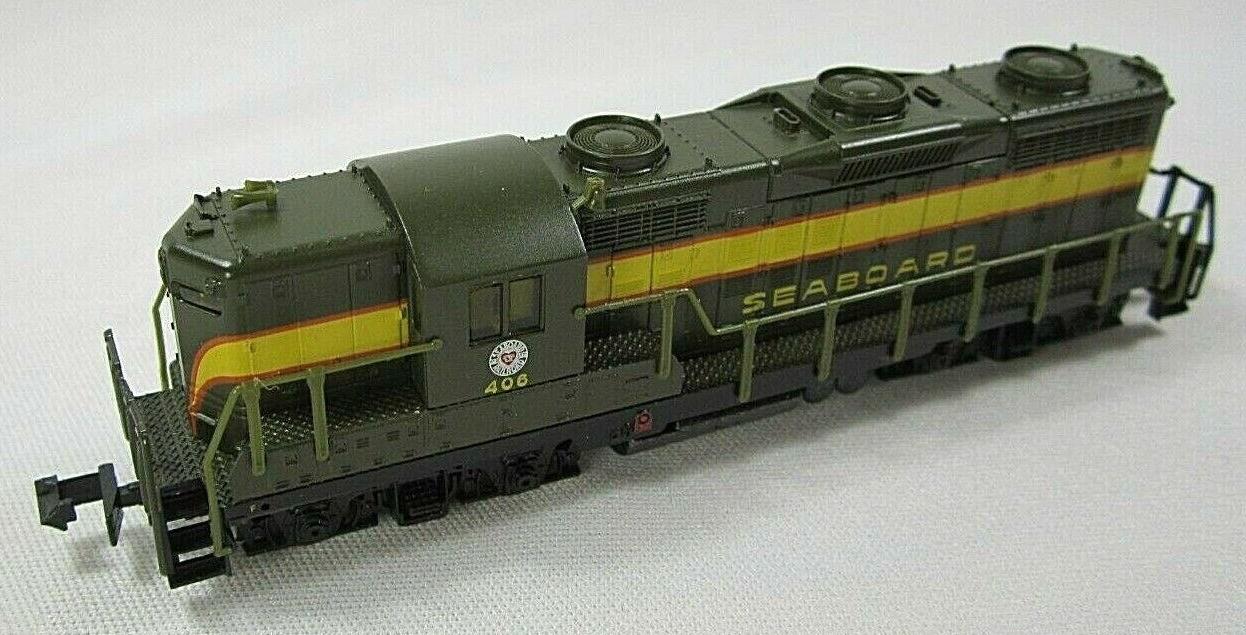 N Scale - Life-Like - 7125 - Locomotive, Diesel, EMD GP18 - Seaboard Air Line - 406
