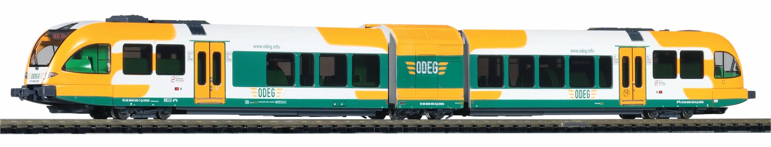 N Scale - Piko - 40235 - Diesel, Stadler GTW 2/6 - ODEG