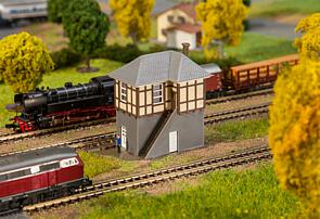 N Scale - Faller - 232530 - Structures, Railroad, Block Post, Tower - Railroad Structures