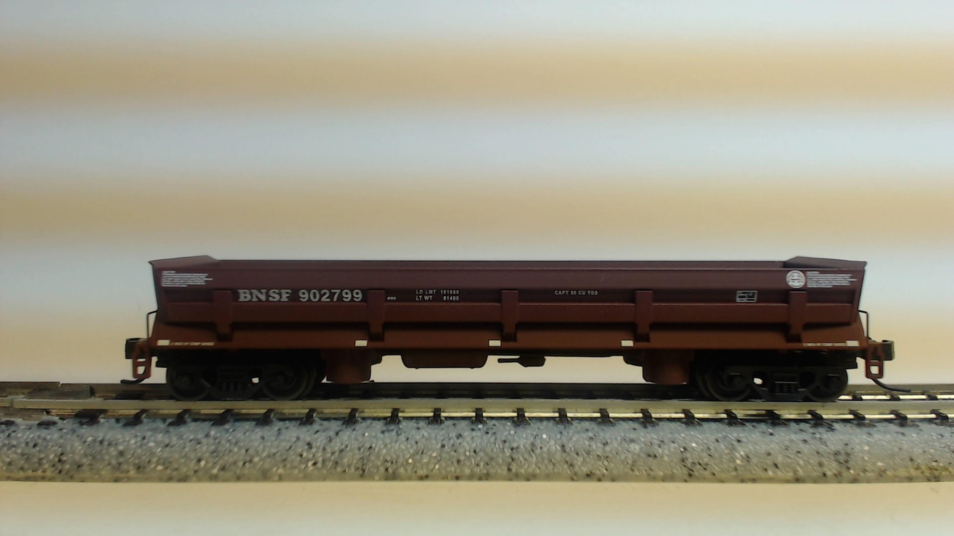 N Scale - Walthers - 932-38604C - Gondola, Difco Dump - Burlington Northern Santa Fe - 902799