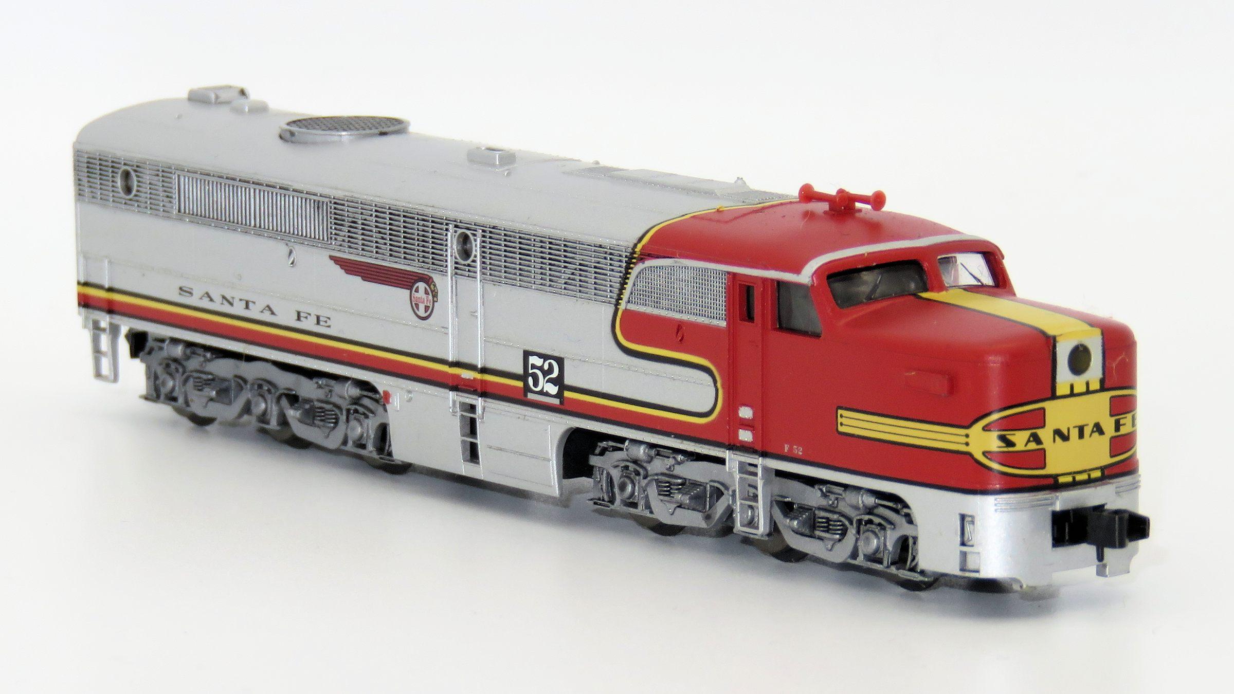 N Scale - Brawa - 1086 - Locomotive, Diesel, Alco PA-1 - Santa Fe - 52