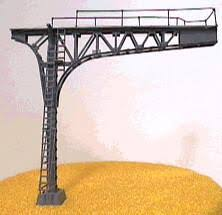 N Scale - NJ International - 4213 - Structure, Railroad , Cantilever - Painted/Unlettered