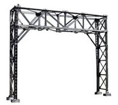 N Scale - NJ International - 4210 - Structure, Railroad , Cantilever - Painted/Unlettered