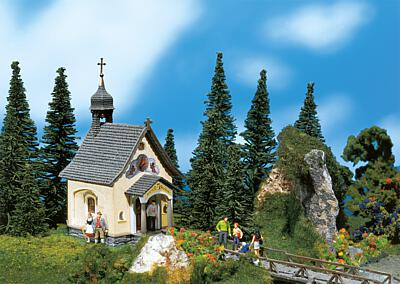N Scale - Faller - 252239 - Ready-Made, Structure, Religious, Chapel, Church - Religious Structures