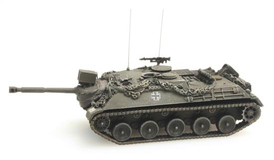 N Scale - Artitec - 6160003 - Vehicle, Tank, Kanonenjagdpanzer 90mm - Military Structures