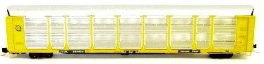 N Scale - Red Caboose - RM-19230-7 - Autorack, Enclosed, Bi-Level - Florida East Coast - 962657