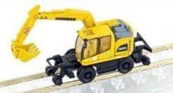 N Scale - Lemke - LC4255 - Truck, Liebherr, A922 Excavator - Painted/Lettered - A922 Road & Rail Excavator