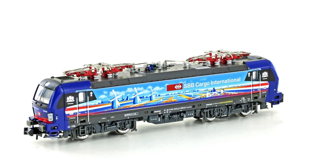 N Scale - Hobbytrain - H3014S - Locomotive, Electric, Siemens Vectron - SBB CFF FFS - 91 80 6193 525-3