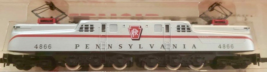 N Scale - Arnold - 5132 - Locomotive, Electric, GG1 - Pennsylvania - 4866